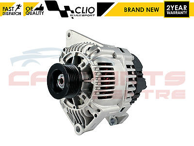 FOR RENAULT CLIO 172 182 20 SPORT 1998 2005 ALTERNATOR FOR MODELS WITH AIR CON