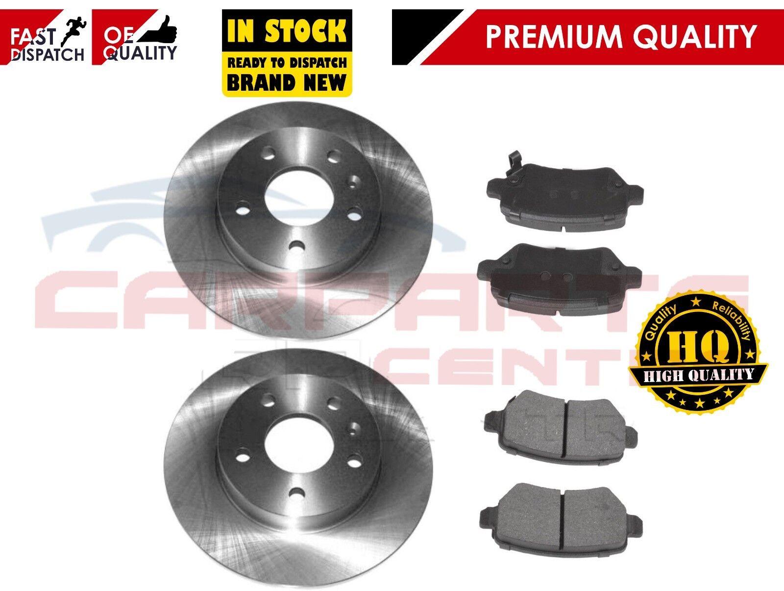 Vauxhall Rear Brake Pads Brake Discs Full Axle Set 264mm Solid Fits Opel