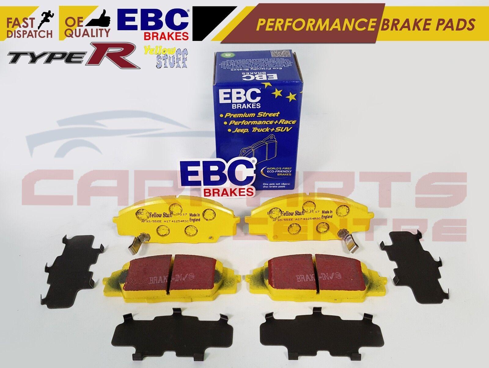 HONDA S2000 EBC YELLOWSTUFF FRONT BRAKE PADS NEW