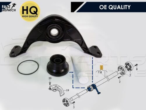 FOR VW TIGUAN PROPSHAFT CENTRE BEARING MOUNTING BRACKET MOUNT PROP SHAFT NEW