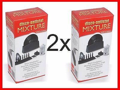 2x1L Mixture Disco-Antistatic von Knosti Reinigungsflüssigkeit NEU Schallplatten