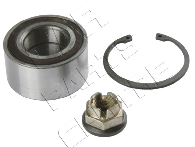 FOR RENAULT CLIO 05-09 1.2 1.4 1.6 PETROL FRONT AXLE WHEEL BEARING KIT ABS ASB