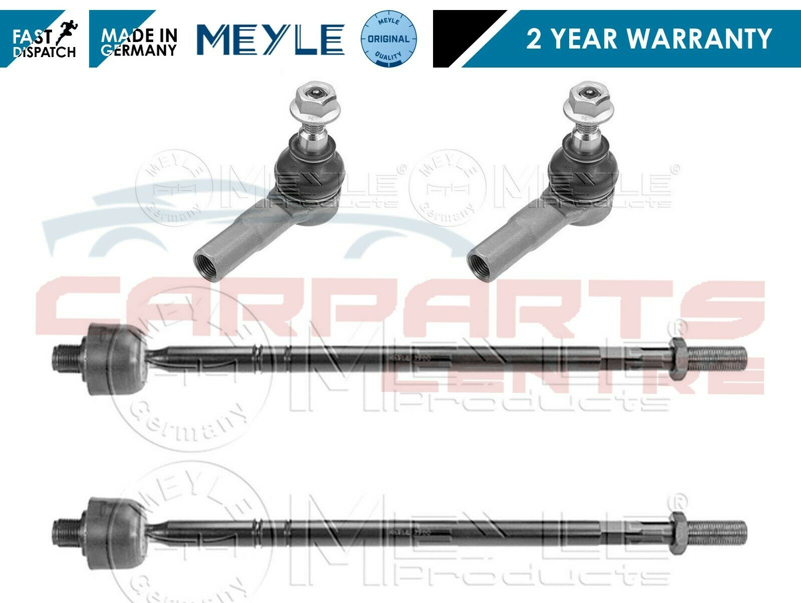 FOR MERCEDES SPRINTER 3T 3,5T 4,6T 5T FRONT INNER TRACK RODS TIE ROD ENDS