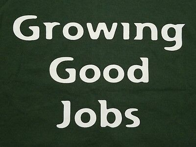 Ucba Growing Good Jobs United Cannabis Business Made In Usa Mens Large Shirt