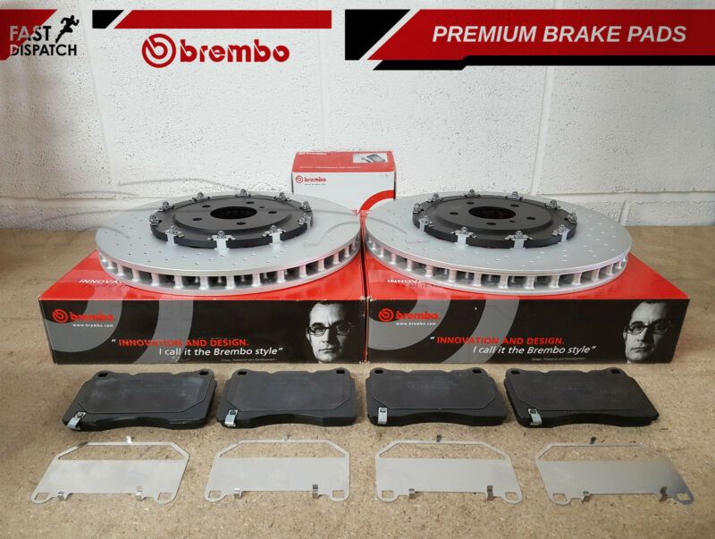 FOR VAUXHALL INSIGNIA 2.8 VXR FRONT GENUINE BREMBO BRAKE DISCS PAD PADS 355mm