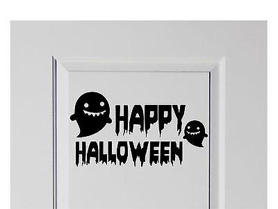 Happy Halloween Vinyl Decal Sticker Decor for Home