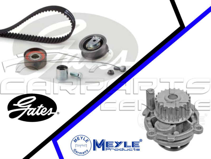 FOR AUDI A4 B6 2.0 FSi SPORT AWA GATES TIMING CAM BELT KIT MEYLE WATER PUMP