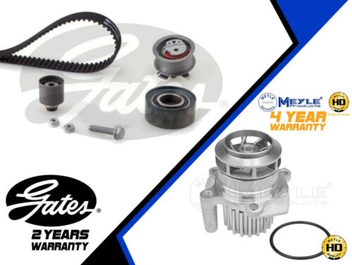 FOR AUDI A4 A6 2.0 TDI BRE GATES TIMING BELT KIT MEYLE GERMANY WATER PUMP 140BHP