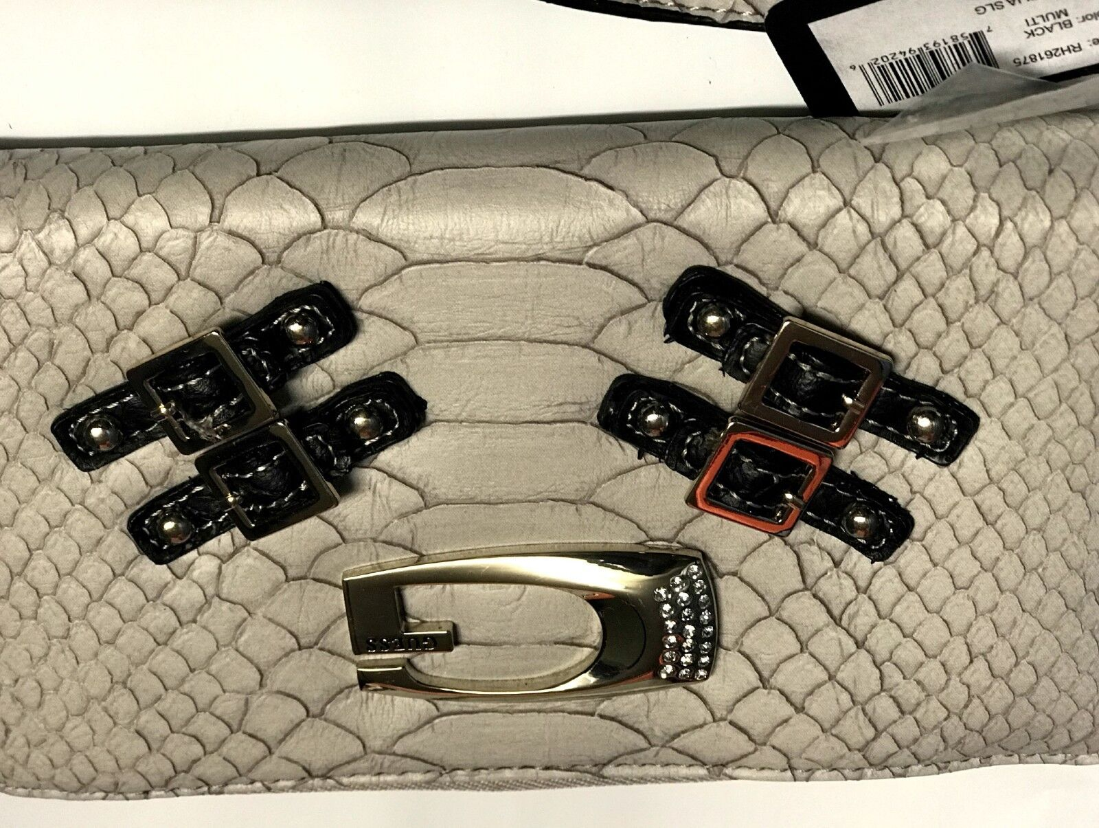 GUESS OTILIA ZIP AROUND LARGE  WALLET for Women's, Black Mul