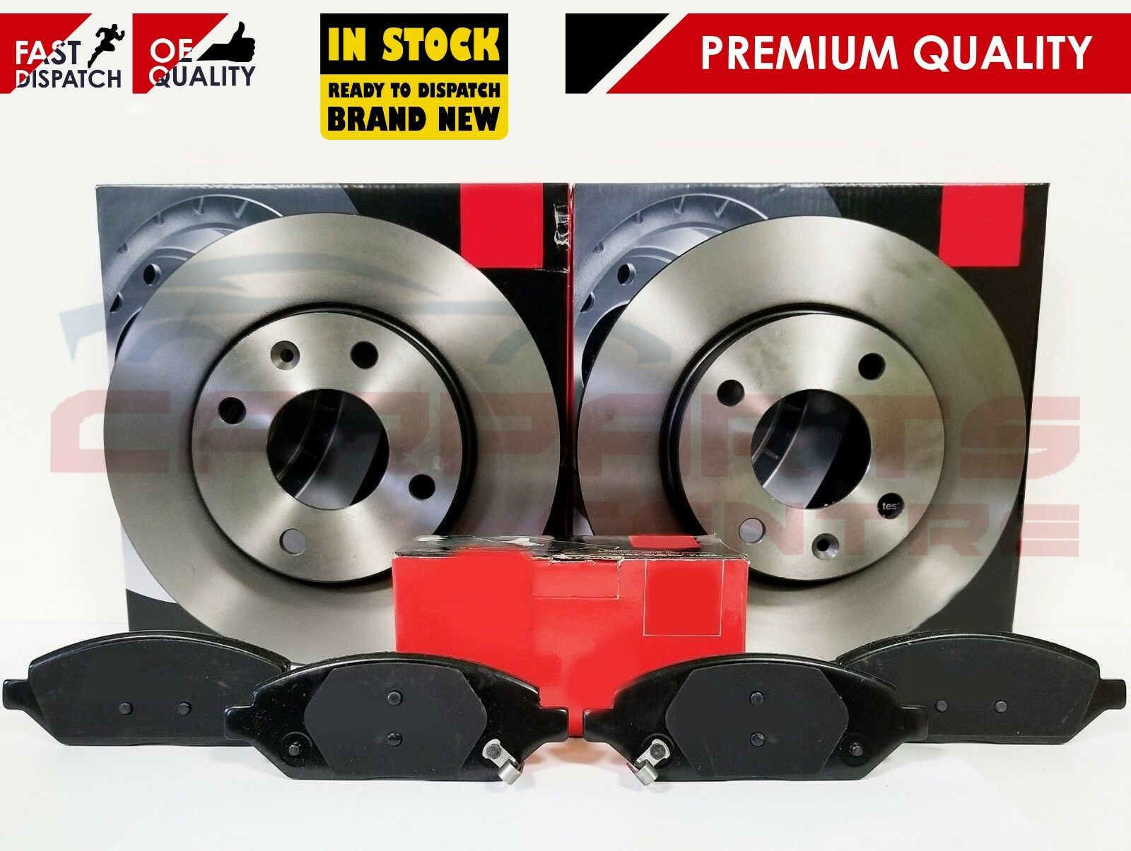 CLIO SPORT CUP 2.0 REAR BRAKE DISCS WITH BEARINGS /& ABS RING /& MINTEX BRAKE PADS