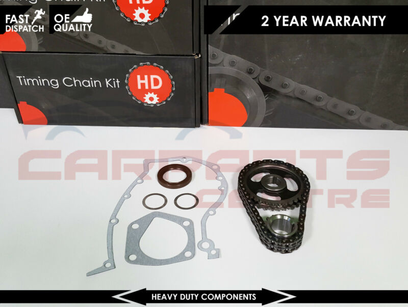 FOR SEAT AROSA 1.0 SKODA FABIA 1.4 PETROL TIMING CHAIN KIT SEAL SET 1997-