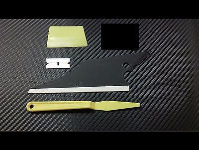 Window Film Tint Tools Conqueror Squeegee + lil Smoothie + Gasket Shank & Razor