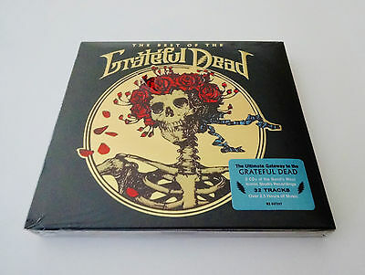 Grateful Dead The Best Of The Grateful Dead 2 CD GD 50 50th Jerry Garcia