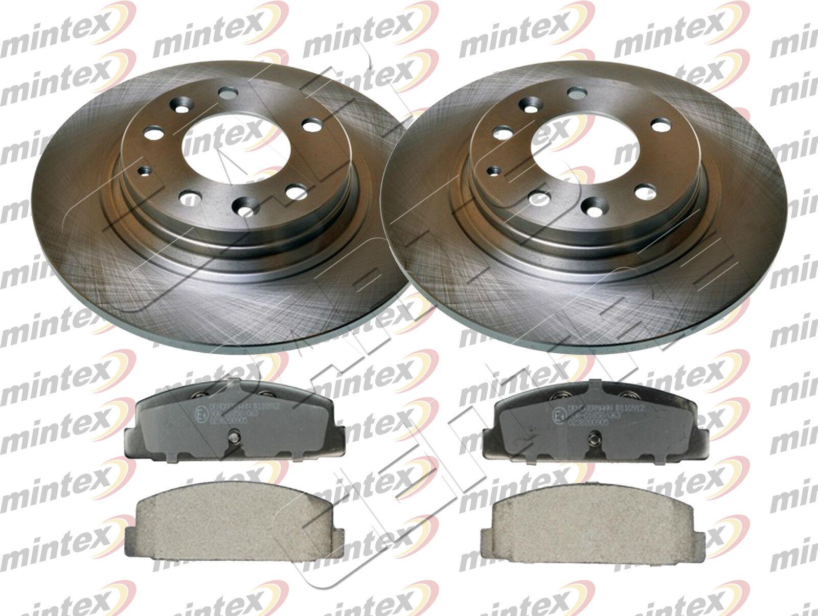 VOLVO S40 2004-/> MINTEX REAR BRAKE DISCS280MM /& PADS