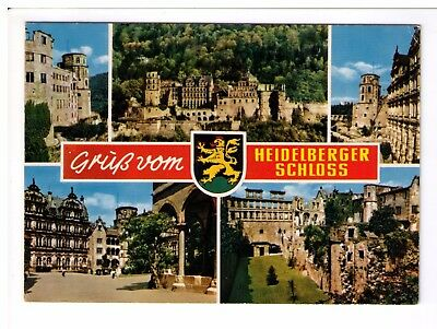 Postcard: Multiview - Heidelberger Schloss - Germany