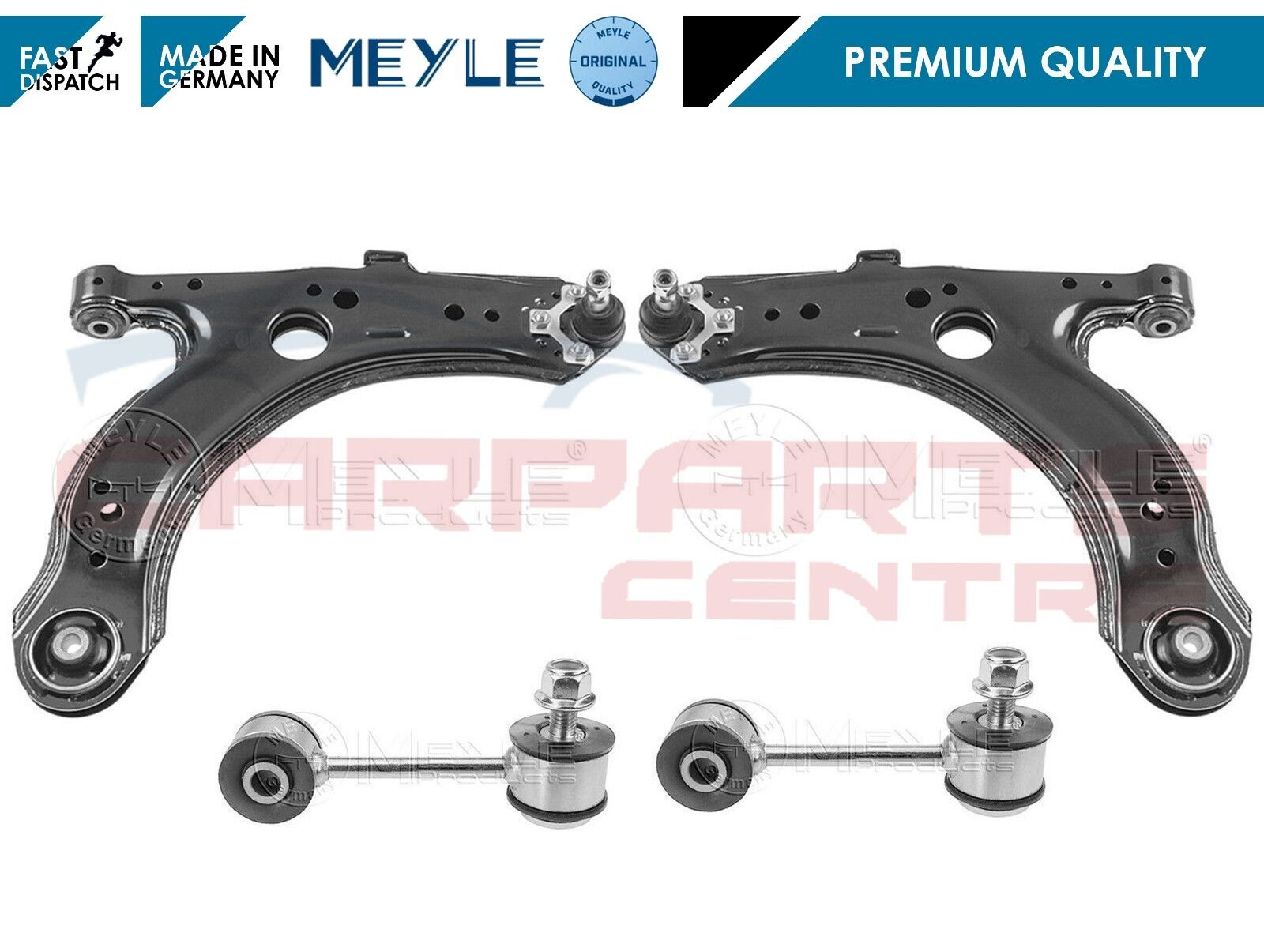 FOR SKODA OCTAVIA MK1 FRONT SUSPENSION WISHBONE ARM ARMS STABILISER LINK LINKS