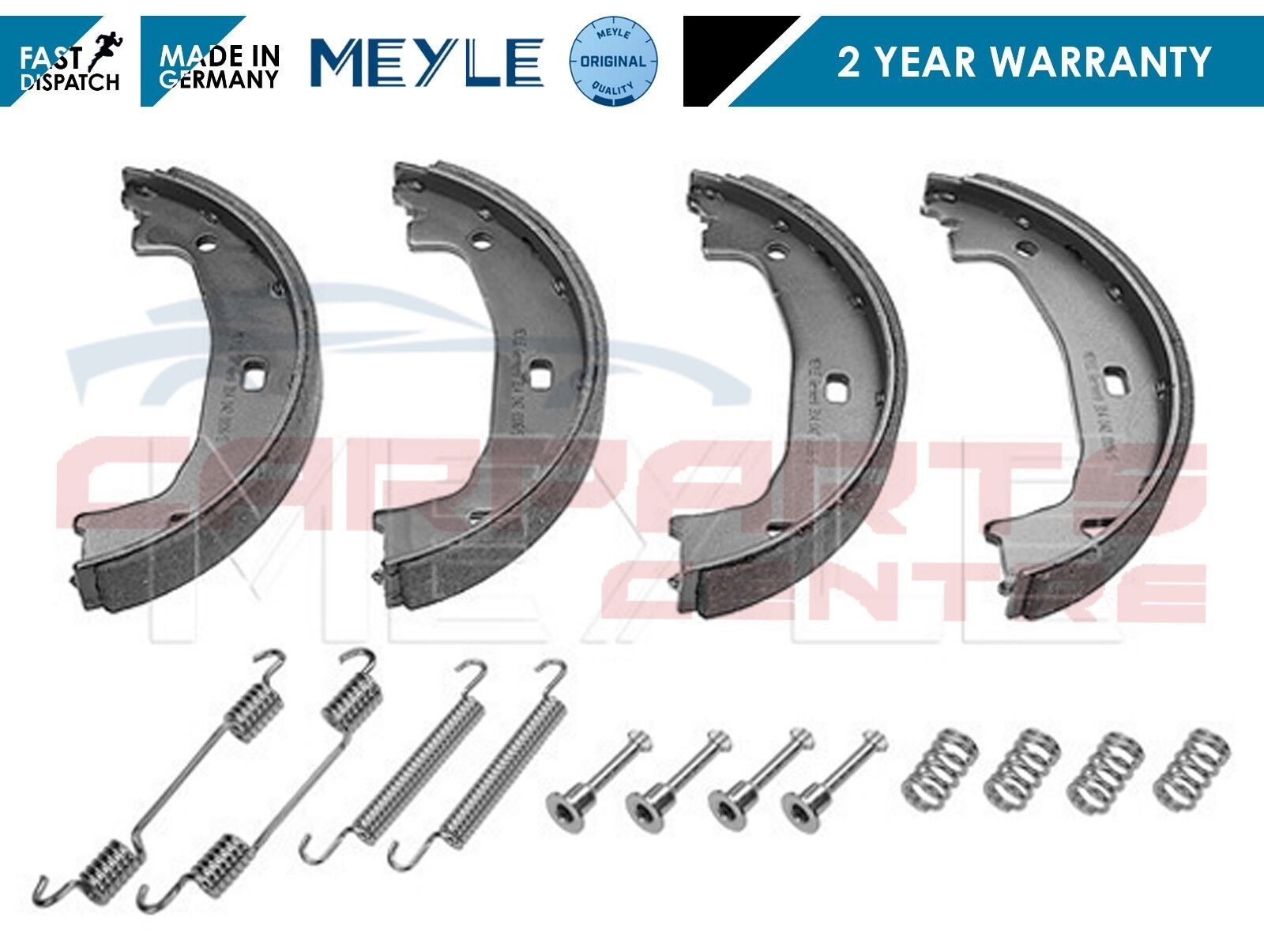 FOR IMPREZA FORESTER LEGACY REAR HANDBRAKE PARKING SHOES FITTING KIT TURBO WRX