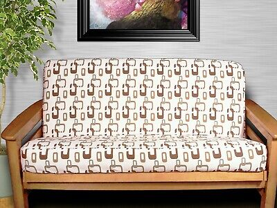 NEW - CONTEMPORARY PATTERN Full Size FUTON COVER Made in USA - COTTON Cotton Futon Cover