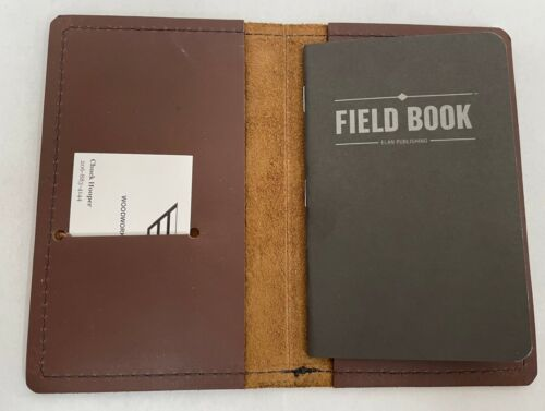 NEW! AMERICAN BISON LEATHER FIELD NOTES COVER MADE IN THE USA FREE SHIPPING