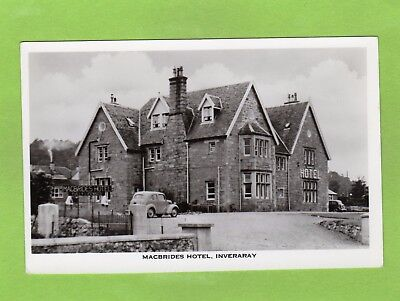 MacBrides Hotel Inveraray RP pc unused Ref E868