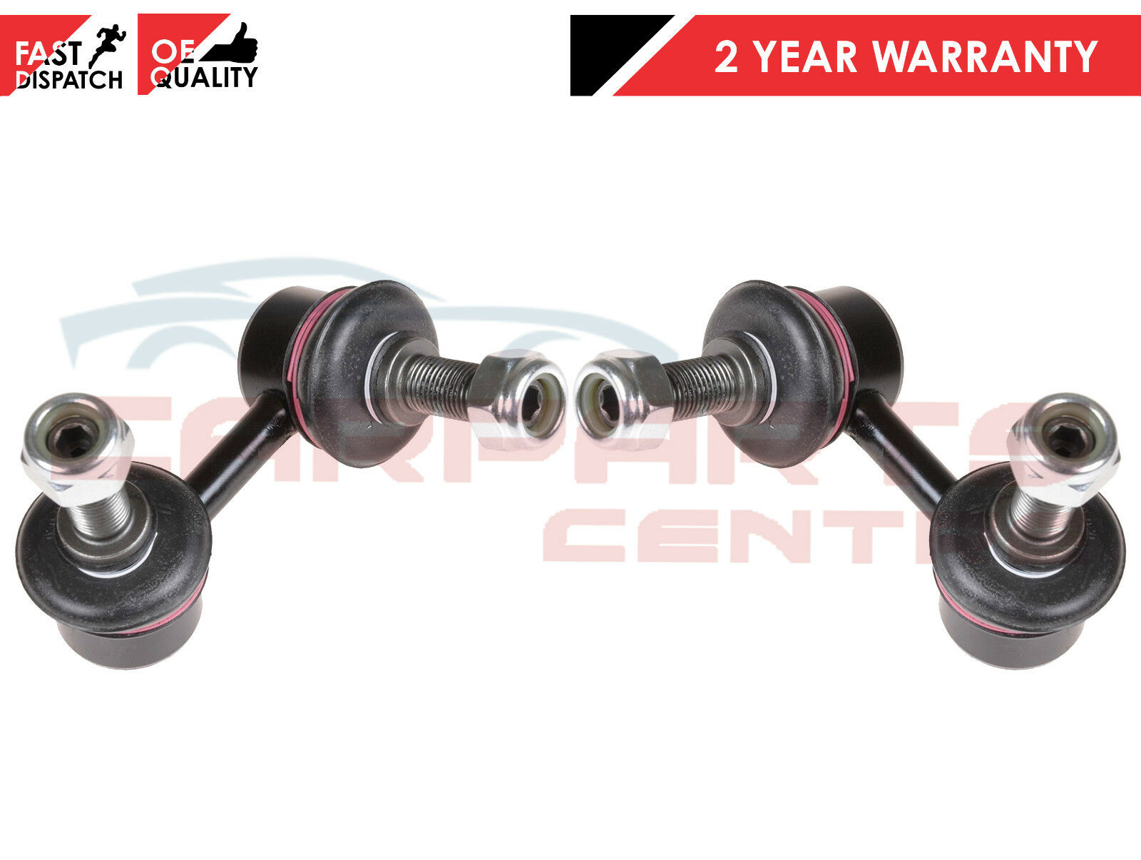2005+ 2 X HEAVY DUTY REAR SHOCK ABSORBERS FOR NISSAN PATHFINDER R51 2.5DCi NEW