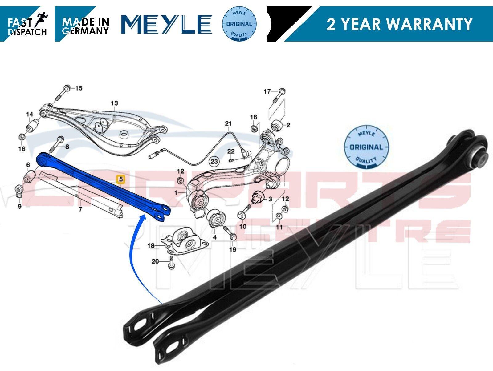 Bmw 3 E46 Z4 delphi lower wishbone bush arrière droite o//s