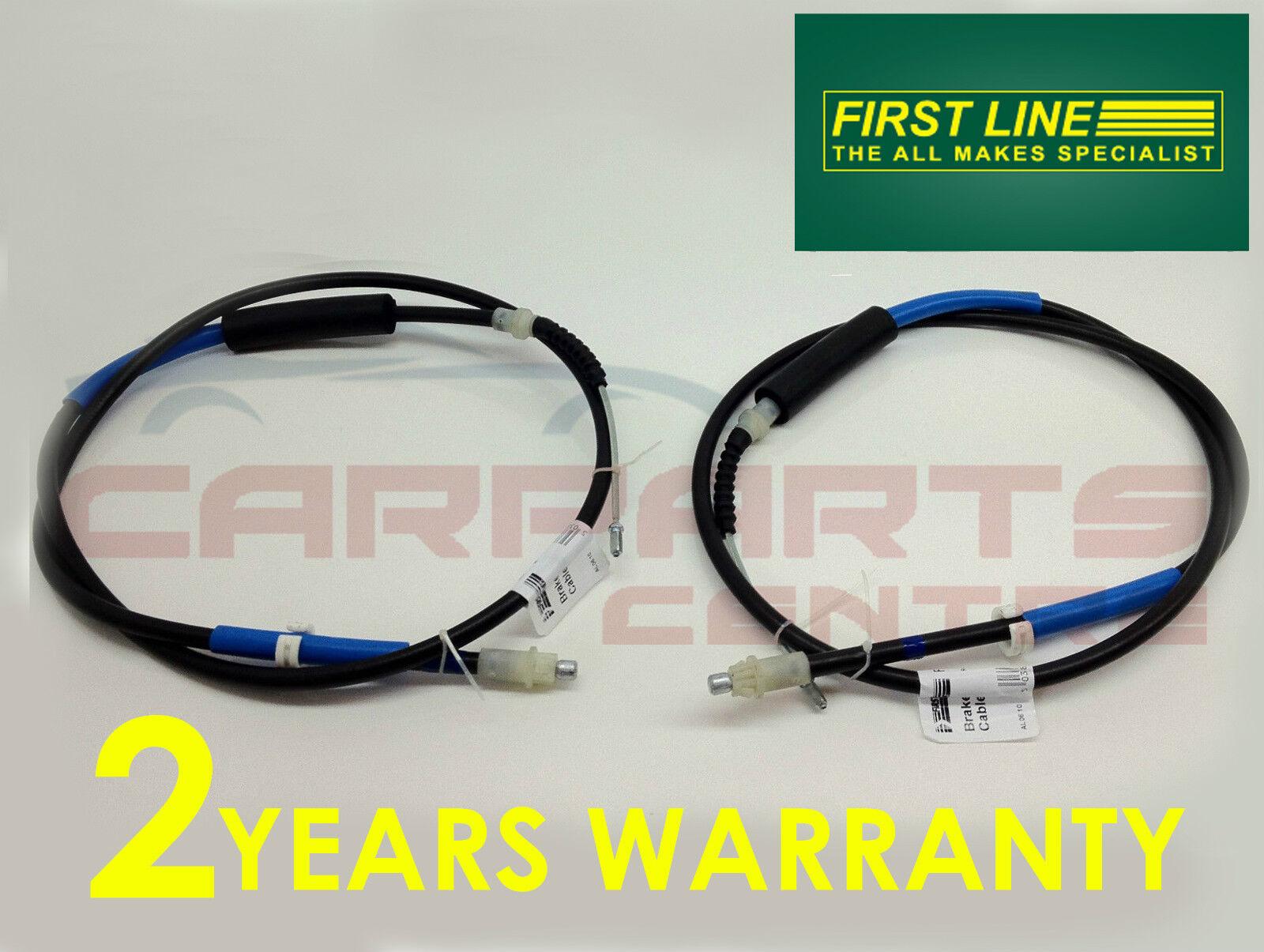 Ford Fiesta Mk2 le câble de frein à main Guides X 2