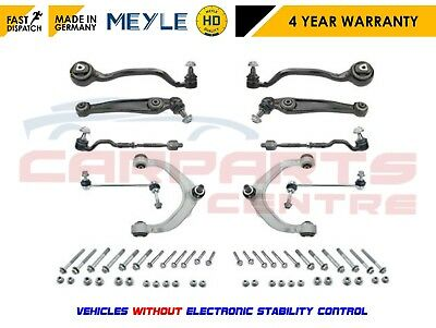 FOR X5 E70 FRONT REAR LOWER SUSPENSION CONTROL ARMS BALL JOINTS LINKS TRACK RODS