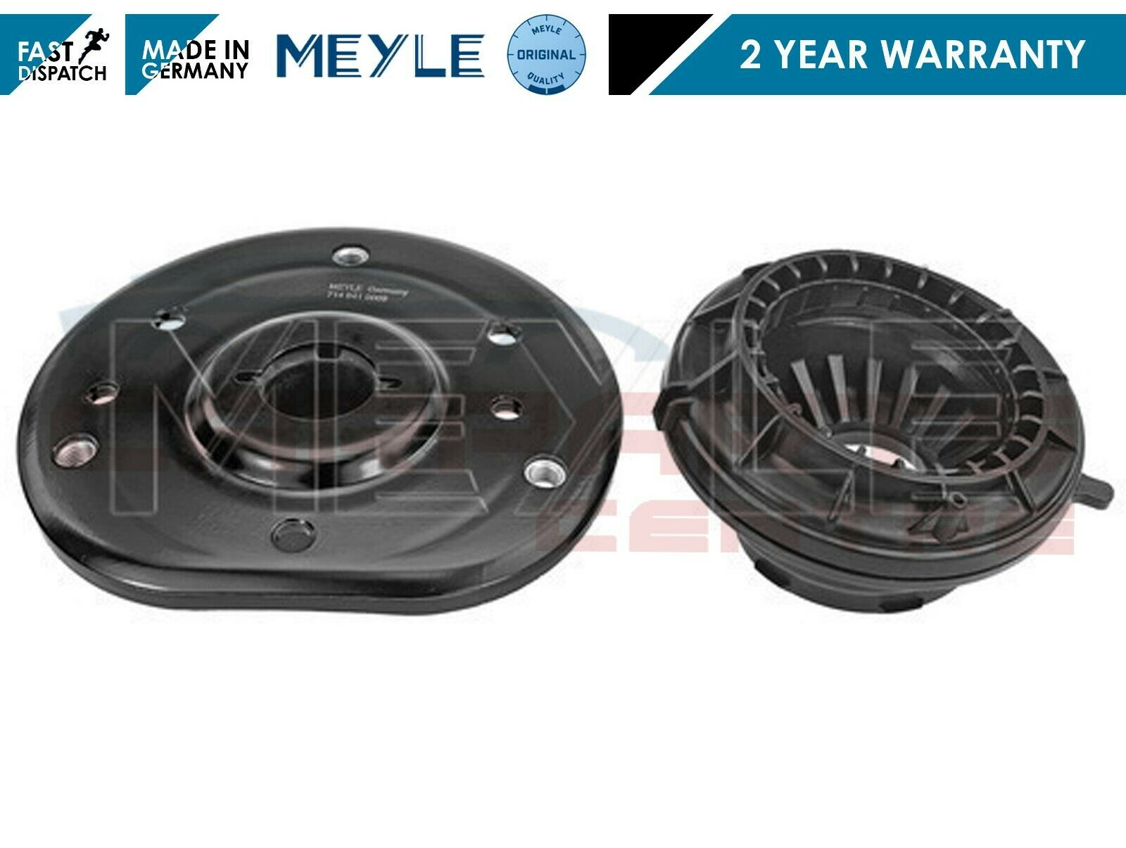 Meyle Heavy Duty Front Suspension Top Strut Mounting Mount /& Bearing x2