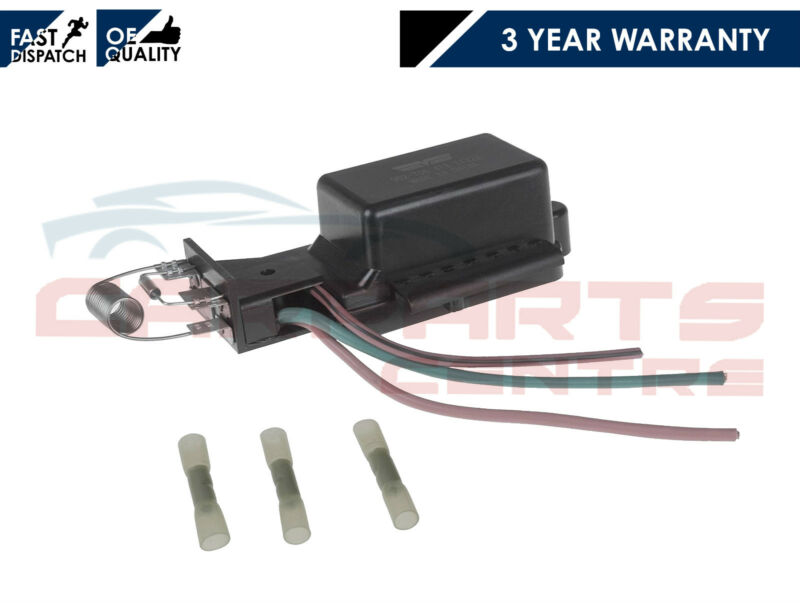 FOR MINI ONE COOPER S 1.6 2003-2006 NEW RADIATOR FAN RESISTOR SWITCH OE QUALITY