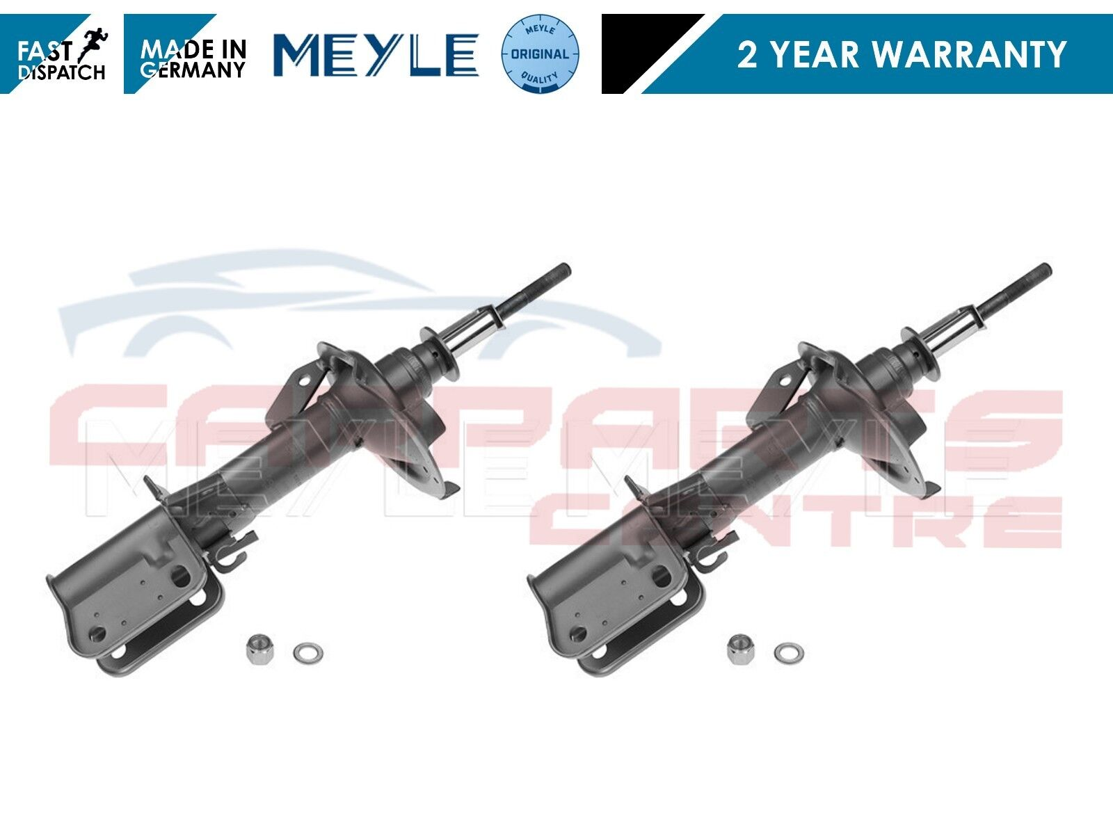 MERCEDES VITO 1996/> FRONT SHOCK ABSORBERS  X 2 NEW