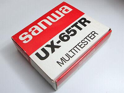 New Sanwa Analog Multimeter Ux-65tr Japan Nos