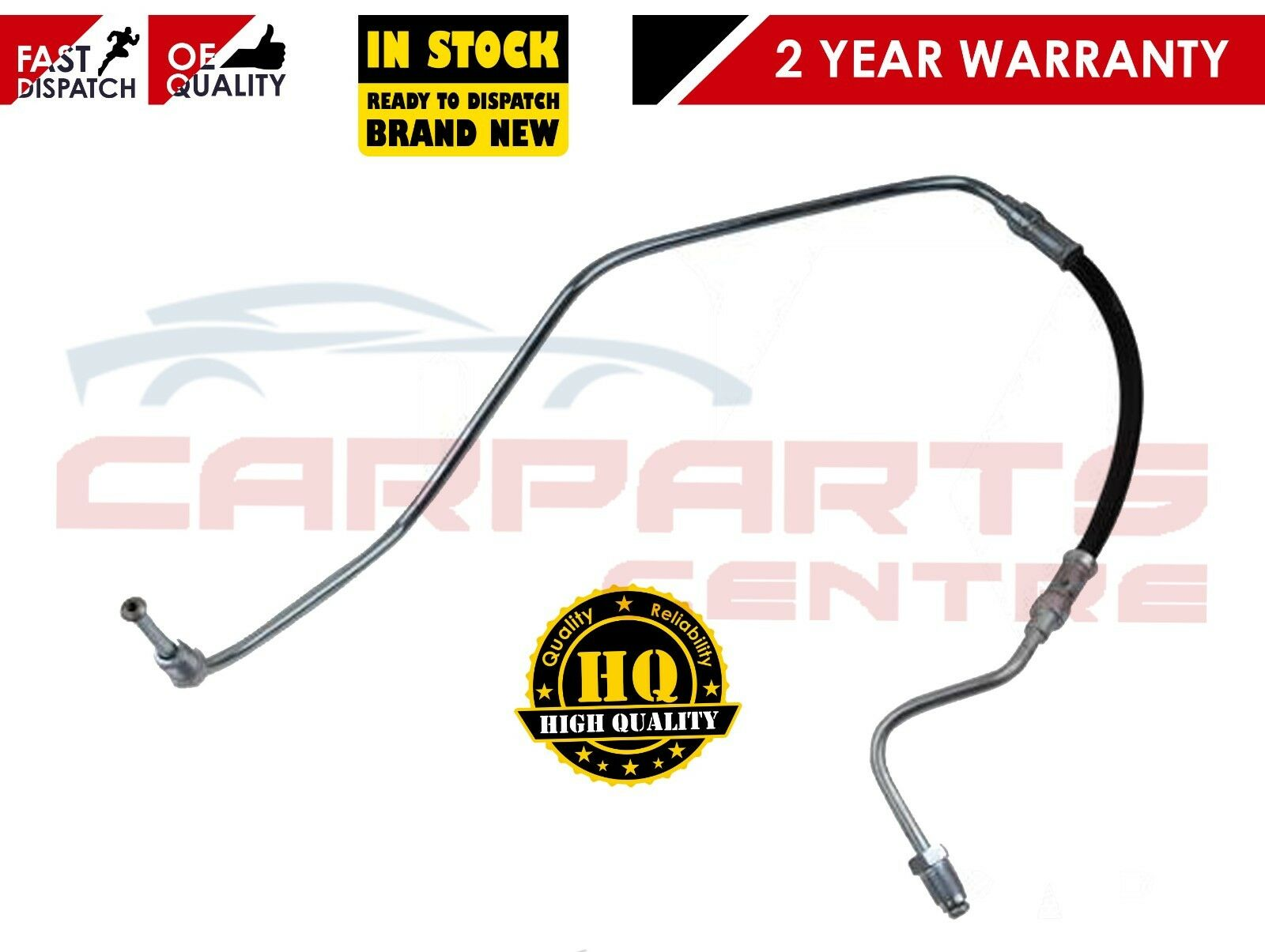 RENAULT GRAND SCENIC Mk2 1.5D Brake Hose Front Left or Right 04 to 05 Hydraulic