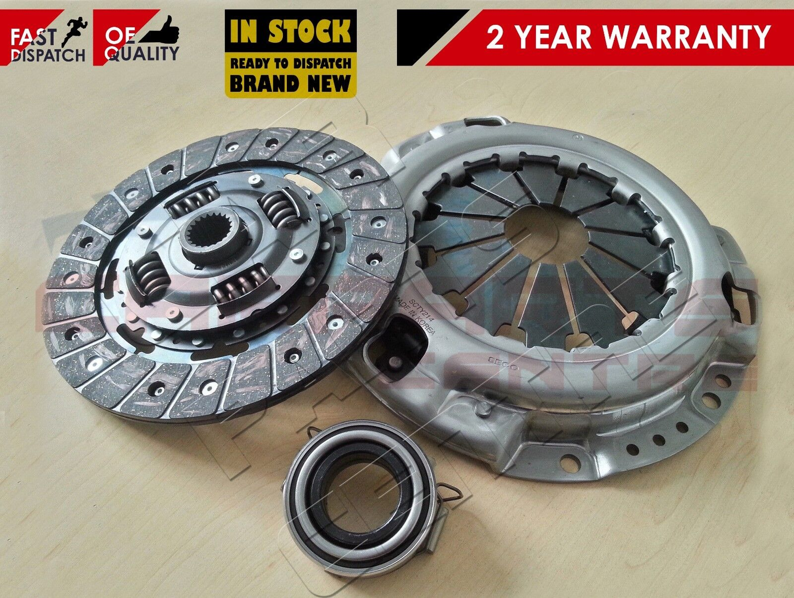 2005//01-2011//11|| more 1.0 VVT-i Clutch Kit For TOYOTA|YARIS