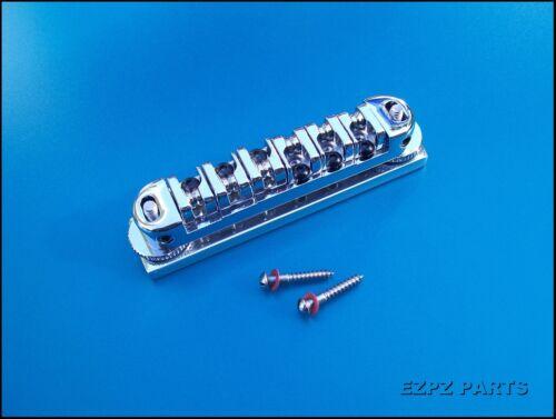 Teisco /Japanese Guitar Bridge Kit. Universal Roller Bridge    EZPZ GUITAR PARTS