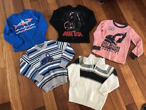 Boys long sleeved size 4/5T tops