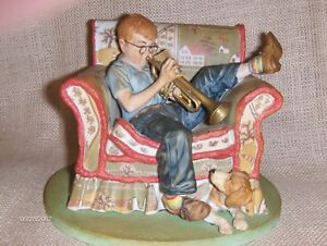 The Trumpeter figurine