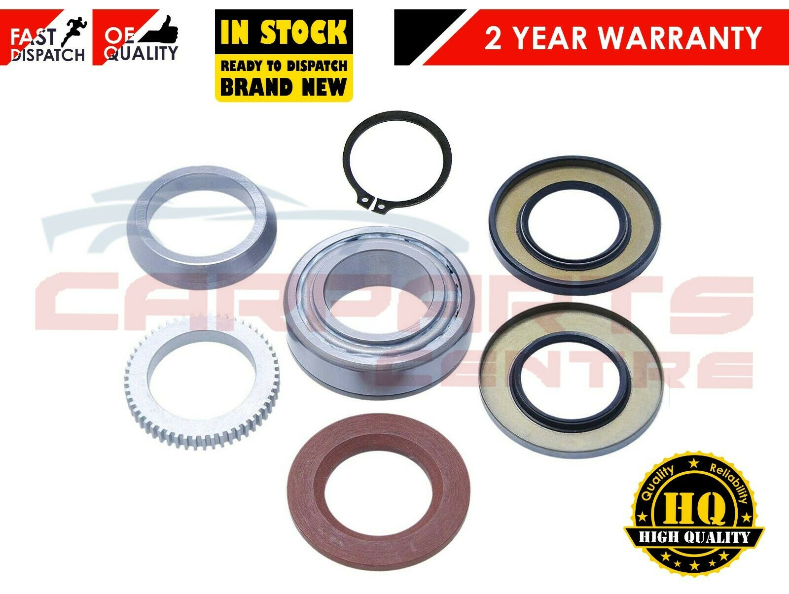 3 X Front Differential Diff Oil Seals For Nissan Navara D40 Pick Up 2.5DCi 2005+