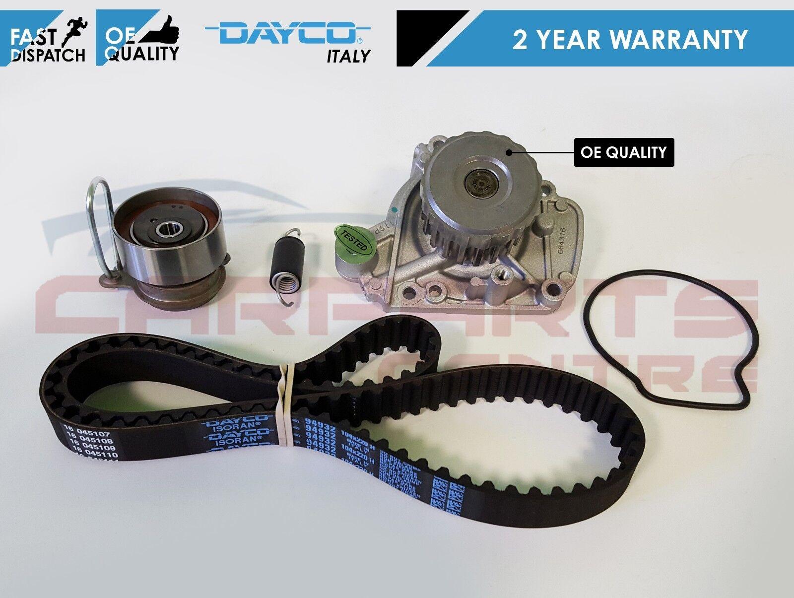For Honda Stream Frv 17 16v Civic 16 Dayco Cam Timing Belt Kit Water Pump