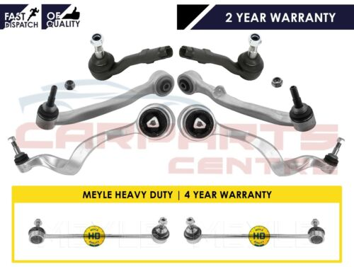 FOR BMW 5 E60 E61 FRONT SUSPENSION WISHBONE CONTROL ARMS DROP LINKS TIE ROD ENDS
