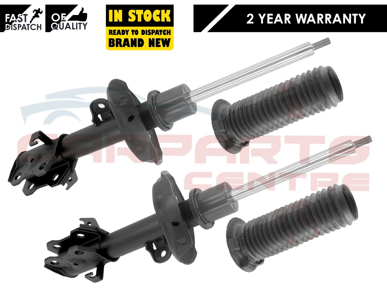FRONT SHOCK ABSORBER STRUT RUBBER BOOT DUST COVER PAIR NEW FOR HONDA CRV 2007