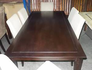 900 X 1800 DINING TABLE ONLY IN CAPPUCCINO COLOUR Thebarton West Torrens Area Preview