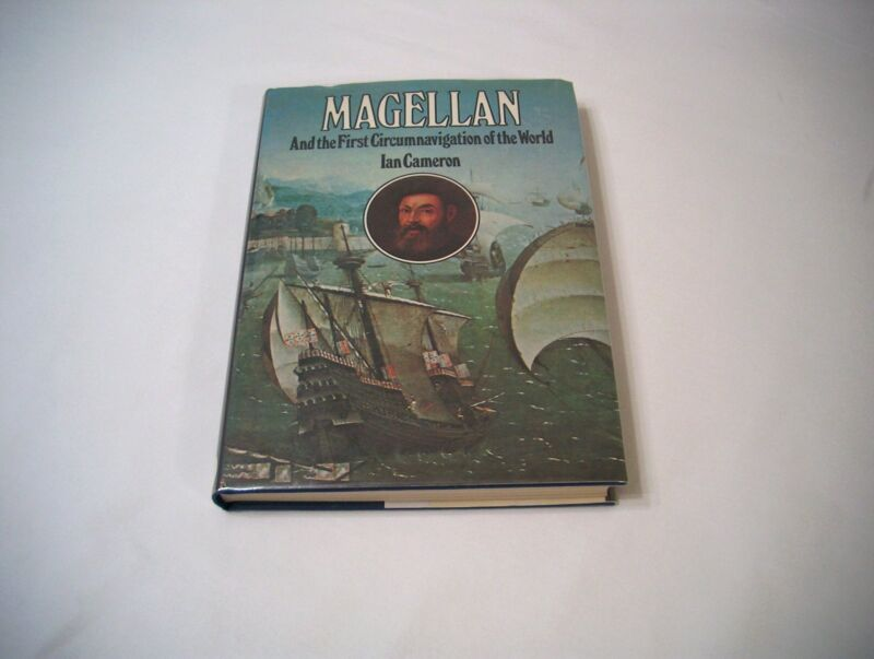 Magellan And The First Circumnavigation 1973 Hardcover Cameron Explorer History