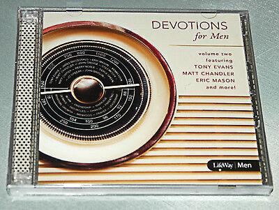 Devotions For Men Volume 2 (2015, CD) LifeWay by 12 Best Selling