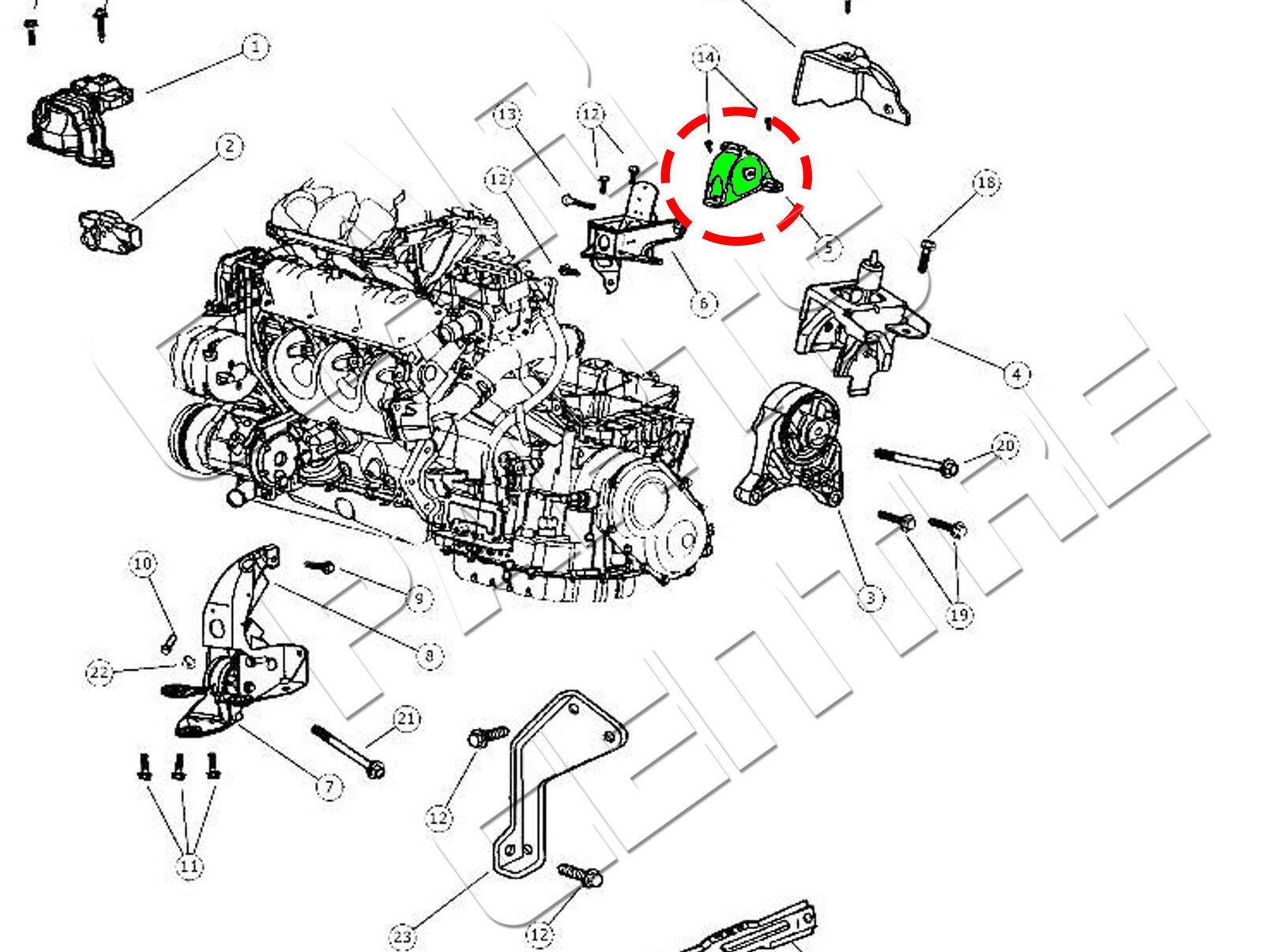 2007 dodge nitro suspension diagram