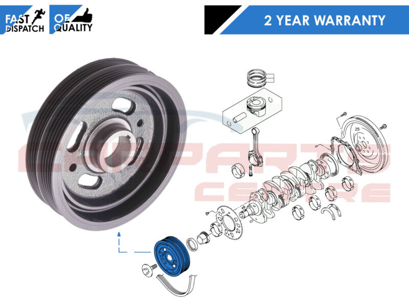 FOR SUZUKI GRAND VITARA SWIFT SX4 SEDICI 1.5 1.6 ENGINE CRANK SHAFT PULLEY NEW