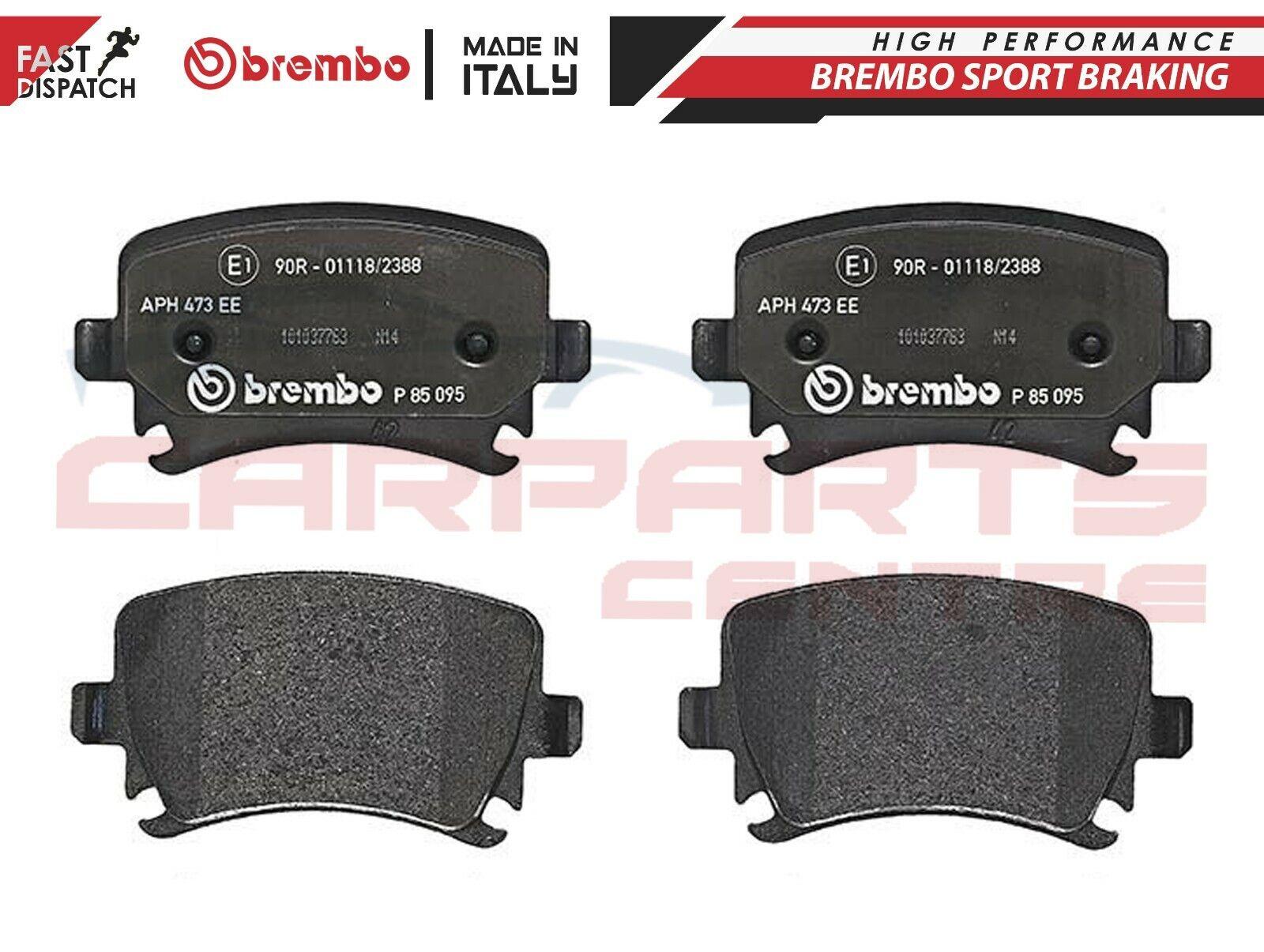 Set of 4 Brembo P85095 Rear Disc Brake Pad