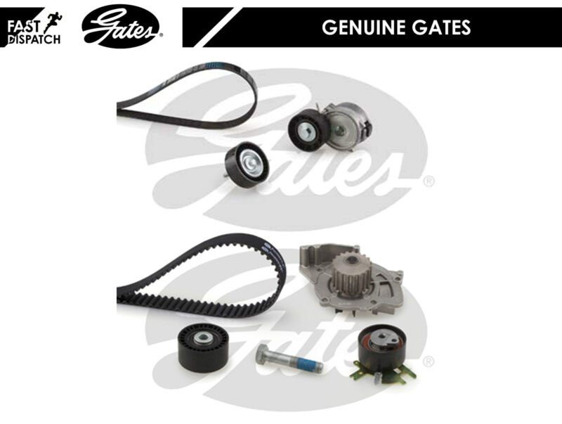 Ford Mondeo mk4 2.0 tdci Timing Cam Belt Water Pump Drive Fan belt Tensioner kit
