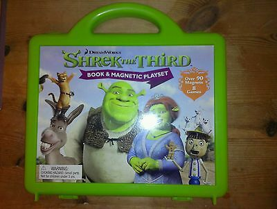 Used, SHREK Shrek the third Dreamworks Magnetic playset games in carry case for sale  Shipping to Nigeria
