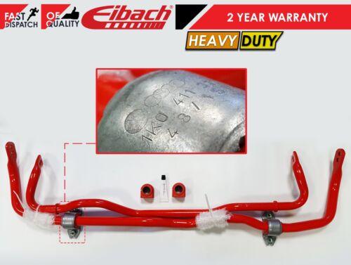 FOR GOLF R MK7 S3 FRONT REAR EIBACH SPORTS HEAVY DUTY ANTIROLL BAR BUSHES KIT